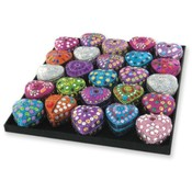 Bogart Heart Shaped Trinket Boxes
