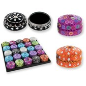 Assorted Jeweled Trinket Boxes