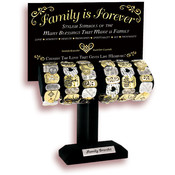 Family is Forever Stretch Bracelet