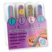 File in Style Nail File in Carrying Case
