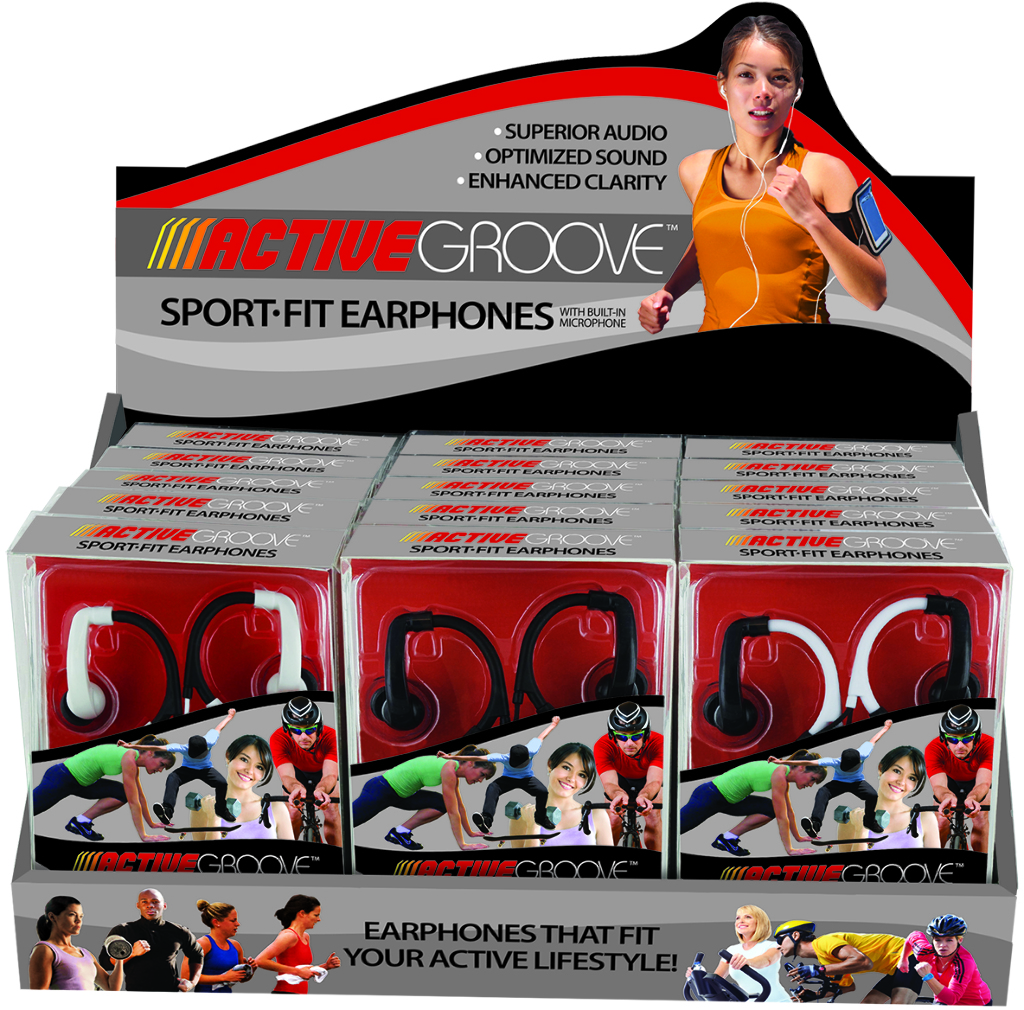 Active Groove Earbuds [1995273]