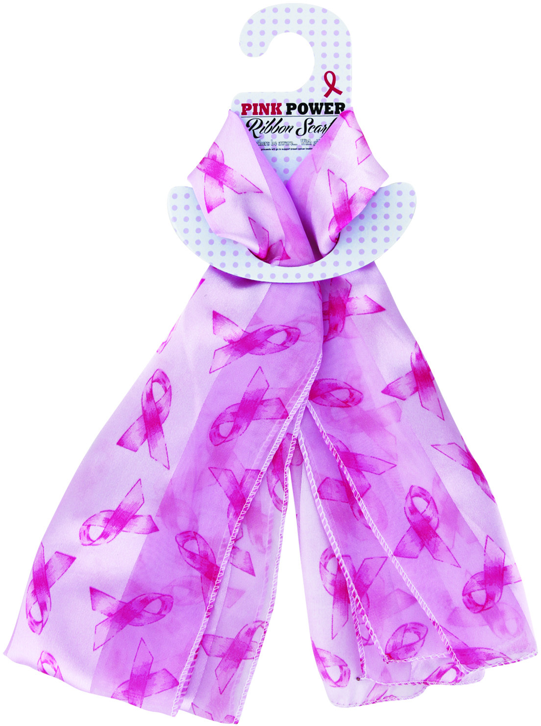 awareness breast cancer scarf