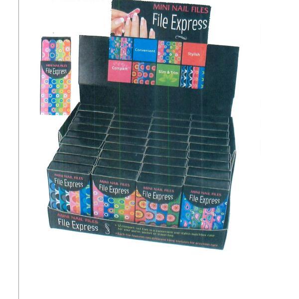 Wholesale File Express Mini Nail Files (SKU 701068) DollarDays