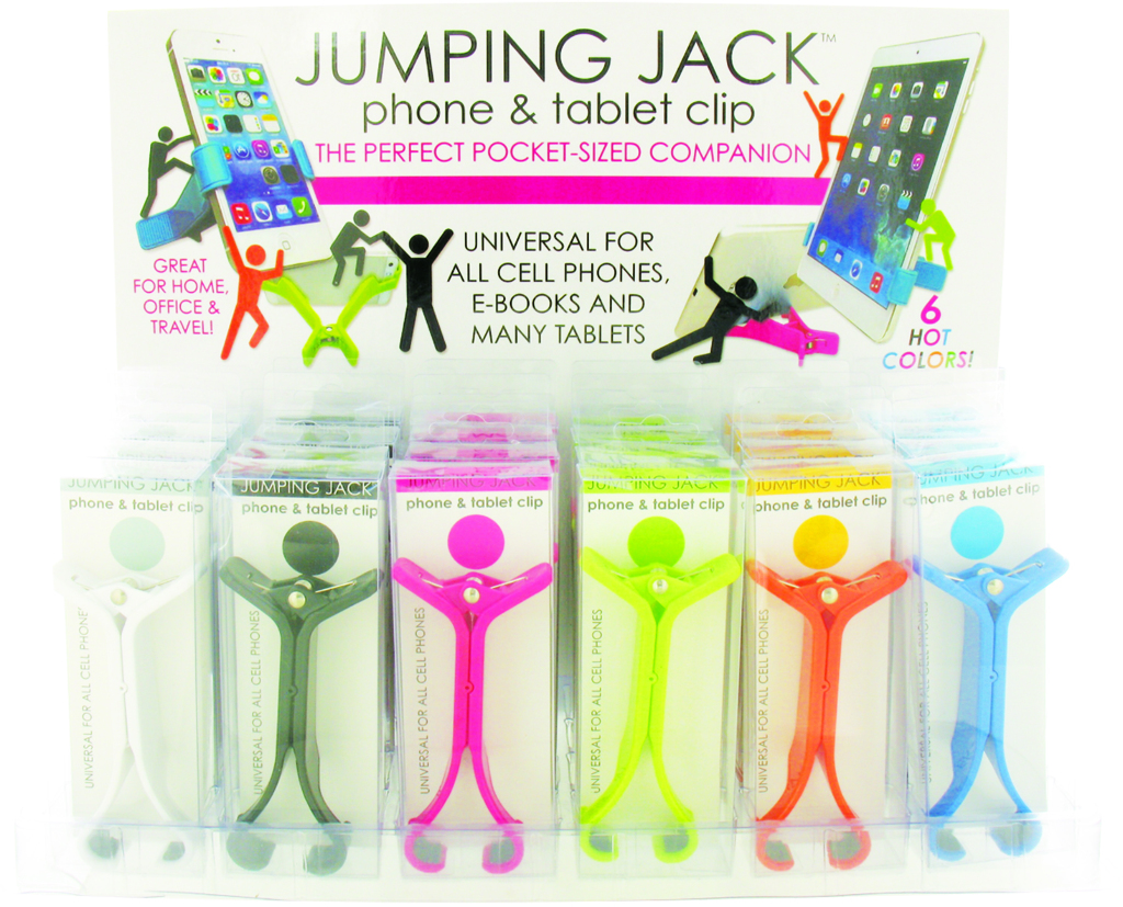 Jumping Jack Phone And Tablet Clip (1879033)