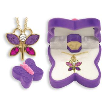 Butterfly Animal Necklace in Butterfly BOX (433652)