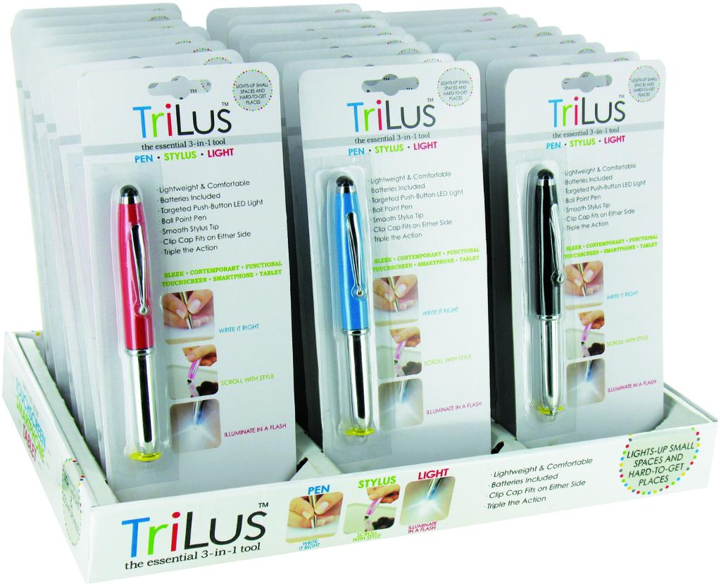 Wholesale Trilus Stylus-Light-Pen (SKU 1939272) DollarDays