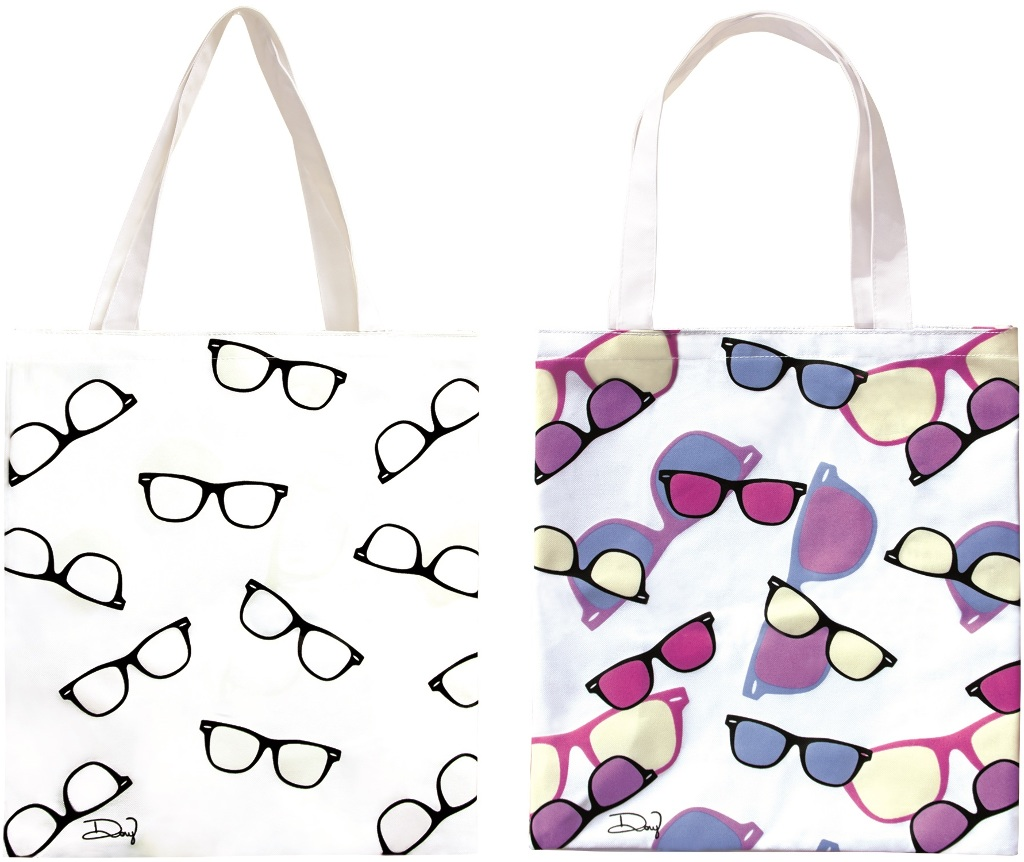UV Color Changing Tote Bag - SUNGLASSES (2133463)