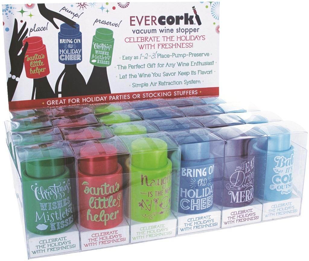 CHRISTMAS Evercork Wine Stopper (1949552)
