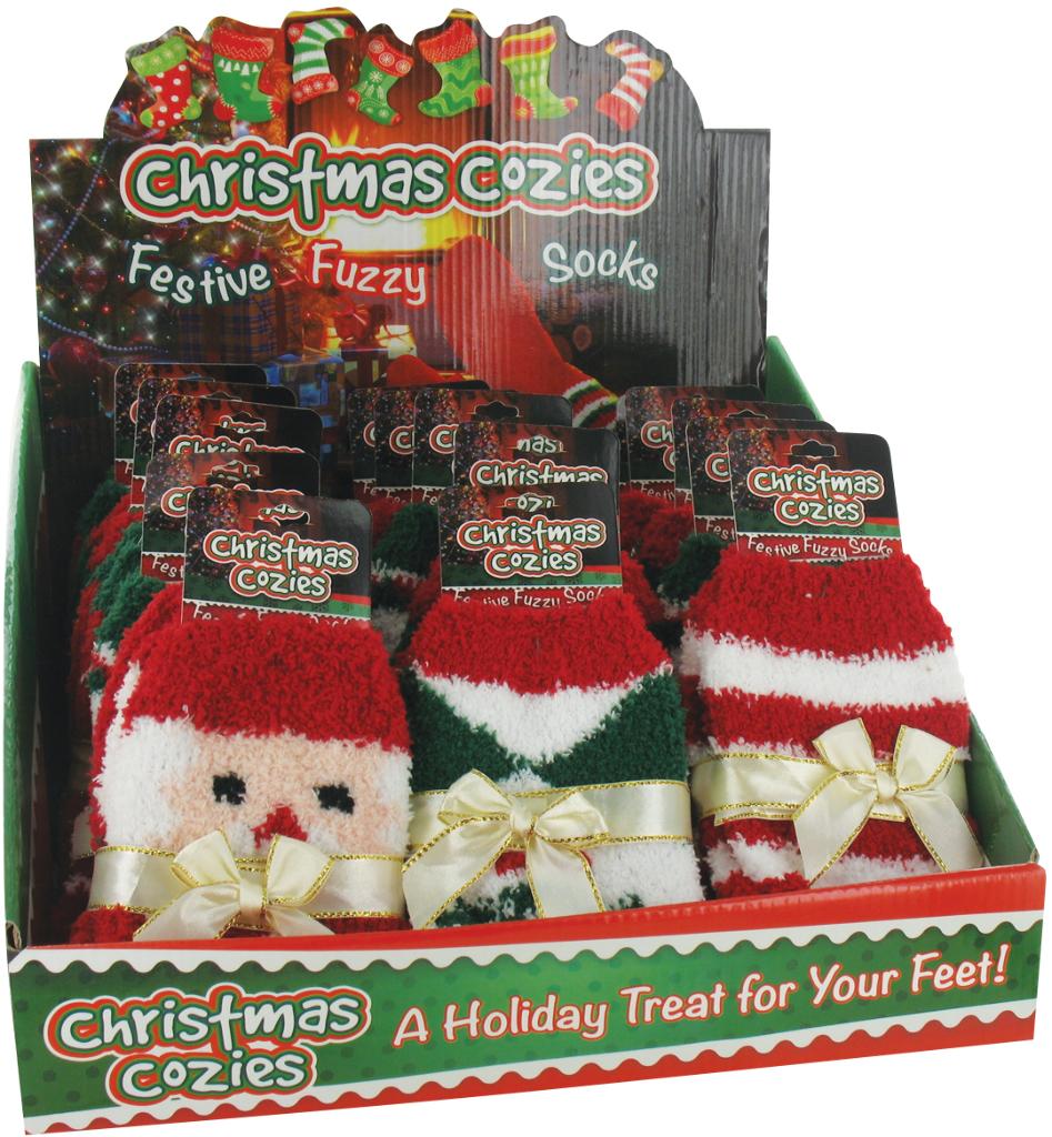 CHRISTMAS Cozy Fuzzy Socks (1859372)