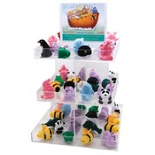 48 Piece Animal Box/Necklace Assortment w/Display