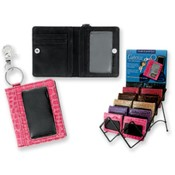 Caprice Compact ID Holder and Key Chain