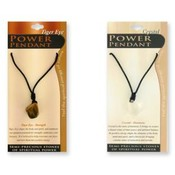 Power Pendant Semi-Precious Stone Necklace