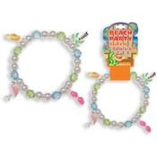 Beach Party Tropical Stretch Bracelet with Charms