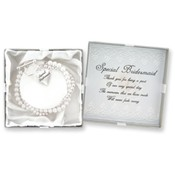 """Special Bridesmaid"" Bracelet"