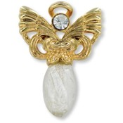 Wings and Wishes Believe Angel Pin