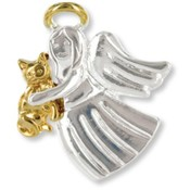 Wings and Wishes Angel for a Cat Lover