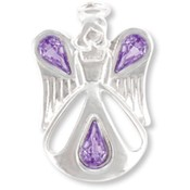 Wings and Wishes Angel of Friendship Pins