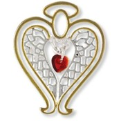 Wings and Wishes Healing Angel Pins