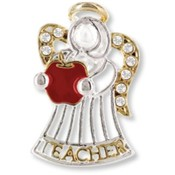 Wings and Wishes Angel for A Special Teacher Pins