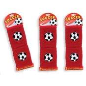 Soccer Wristbands 2 Per Card