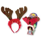 Flashing/Jingling Holiday Antler Headbands