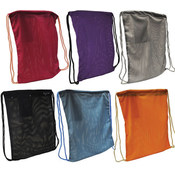 Mesh Sport Drawstring Backsack