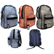 "17"" Mesh Backpacks 3 colors"
