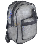 "17"" Assorted Color Mesh Backpacks"