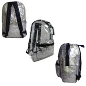 "17"" Clear Backpacks"