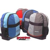 "15"" Assorted Color Sportpak Backpack"