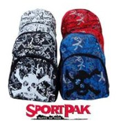 "17"" Assorted Color Sportpak Backpack"