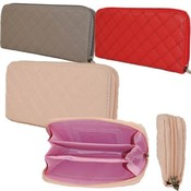 Womens One Zip Fashionable Wallets