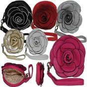 Blooming Flower Wristlet Bag