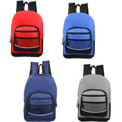 "17"" Assorted Color Backpacks"