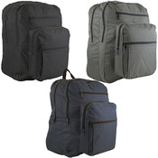 "19"" Backpack - 3 Assorted Colors"