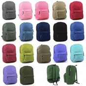 "Marc Gold Backpack: 17"" assorted colors"