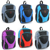 "Sport Pak 1802 Multi Color 16"" Backpack"