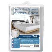 Heavy Duty Zippered Mattress Cover -Twin