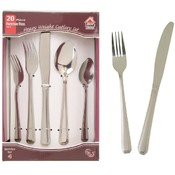 20 Piece Stainless Steel Cutlery Set/ Heavy Weight