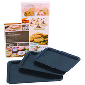 3 Piece Baking Sheet Set