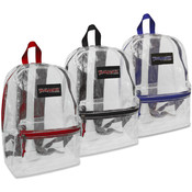 Trailmaker 17 Inch Clear Backpack