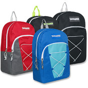 Trailmaker 17 Inch Bungee Backpack - 4 Colors