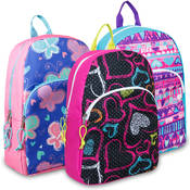 Girls Character Backpacks- 15 Inch