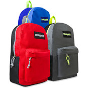 Trailmaker Color Block Backpacks - 17 Inch