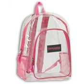 Trailmaker 17 Inch Clear Backpack - Girls