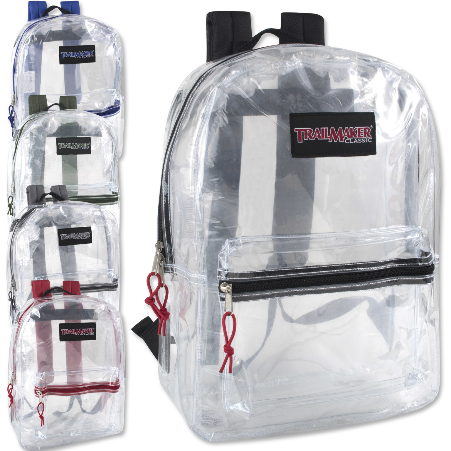 ''Trailmaker 17'''' Clear BACKPACK [1272921]''