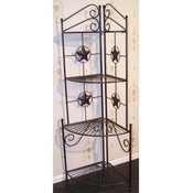 Metal Star Corner Shelf