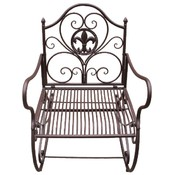 METAL ROCKING CHAIR