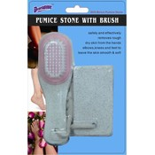 2 Pack Pumice Stone with Brush