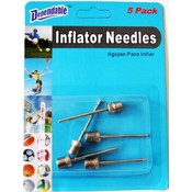 5 Pc Sport Balls- Inflating Needles